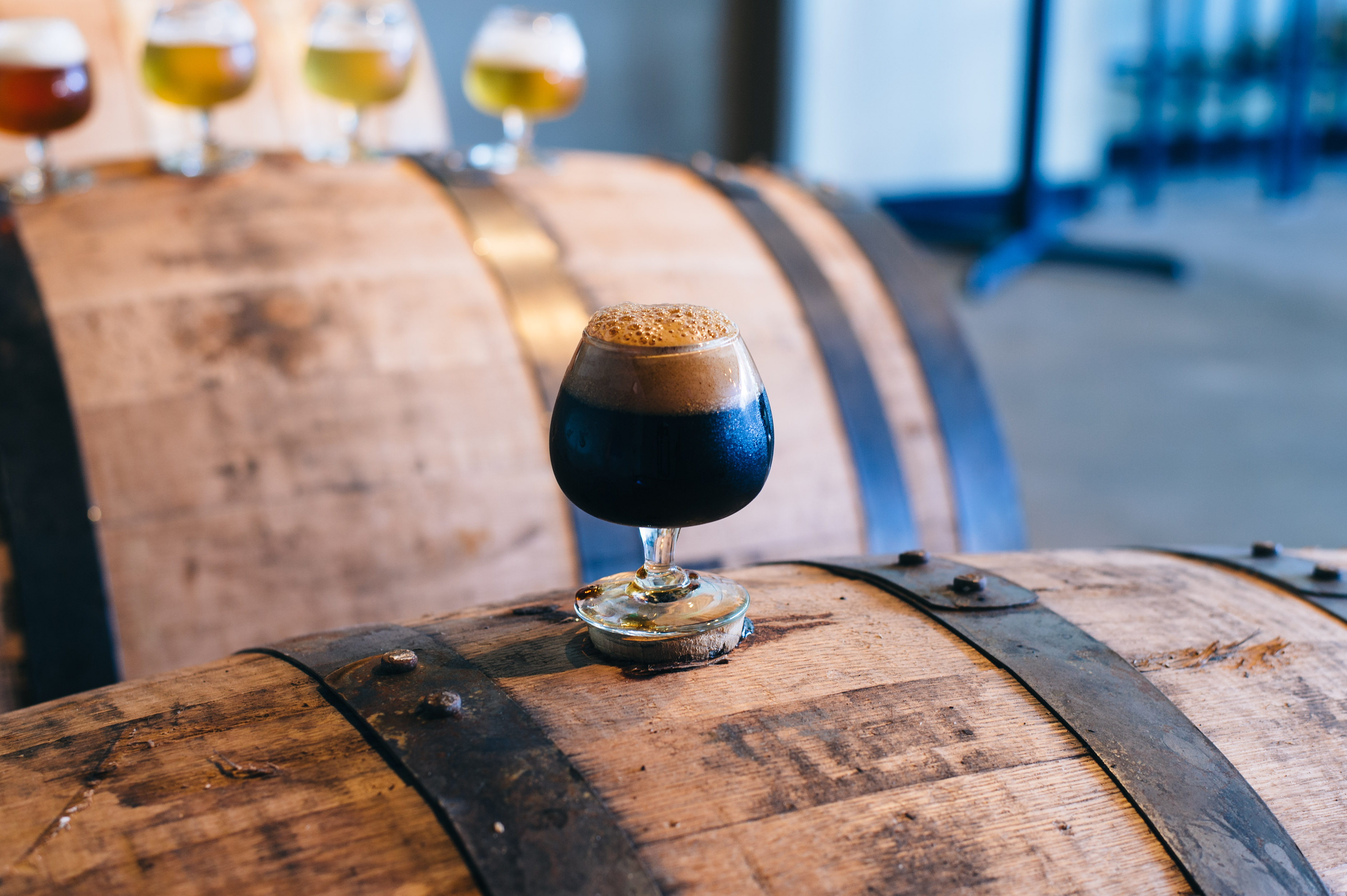 Barrel aged beer from a Denver Brewery